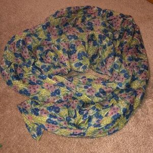 Accessories - Floral scarf